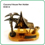 Coconut House Pen Holder