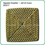 Square Coaster ~ set of 4 pcs