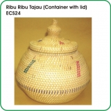 Ribu Ribu Tajau (Container with lid)