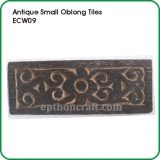"Antique Small Oblong Tiles 7""x3"""