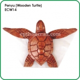 Penyu ~ Wooden Turtle (medium)