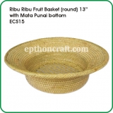 Ribu Ribu Fruit Basket 13""